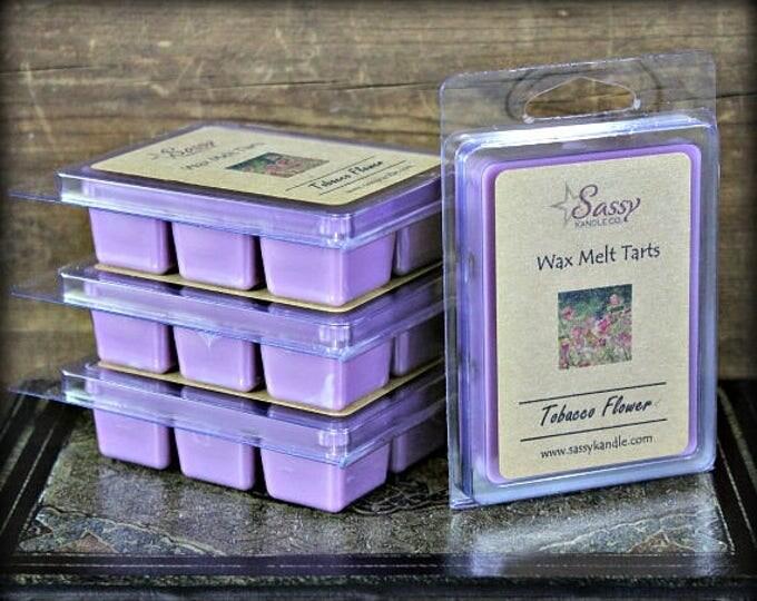 TOBACCO FLOWER | Wax Melt Tart | Sassy Kandle Co.