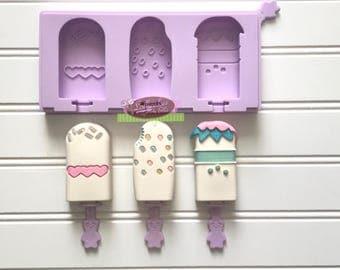 Mini Ice Cream Bars Popsicle mold