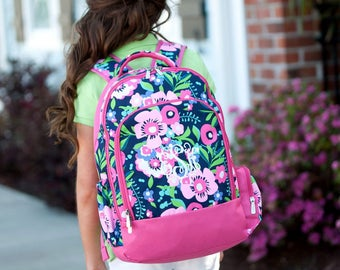 Personalized Posie Backpack