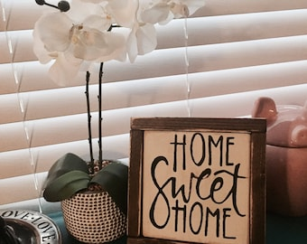 Home Sweet Home - Wooden Sign