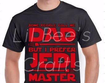 Jedi Master Shirt