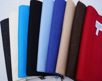 100% Baby Alpaca Throw Blankets - Solid Color I Broad Selection, No Synthetics or Chemical Dyes