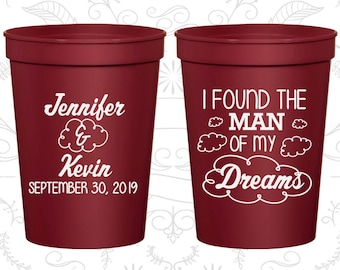I found the man of my dreams, Promotional Cups, Clouds Cups, souvenir cups (257)