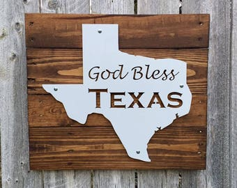 Texas Metal God Bless Texas