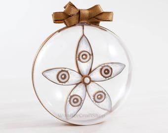family christmas gift, christmas ball, custom christmas bauble, christmas paper decor, hanging ornament decoration, christmas tree ornament