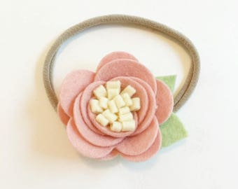 Large Rose Headband