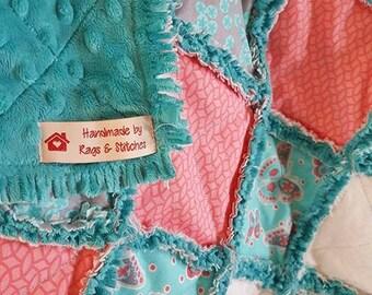 Grayson Rag Quilt/Sold