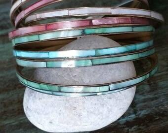 Multicolor pearl bracelet been