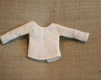 Bloomsbury Jewel Long Sleeve Top ~ Vintage Voile - A BirdyBoo Design from the Bloomsbury Collection for Blythe
