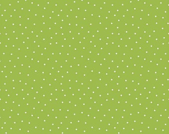 Glamper-licious Dots Green Yardage C6316-Green by By Samantha Walker for Riley Blake Designs