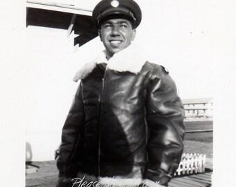 WW2 Leather Flight Jacket