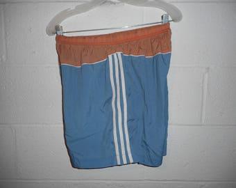 Vintage 90s Adidas Nylon Shorts Medium