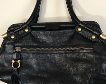 """Ferragamo handbag  """"doctors bag """""""