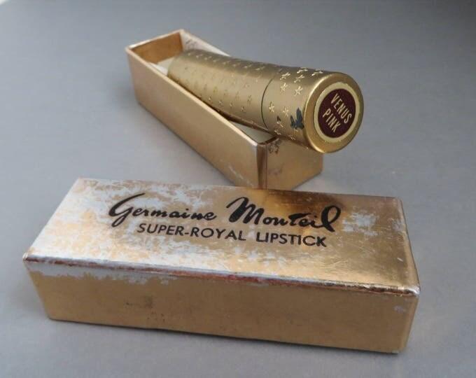 Vintage Germaine Monteil Lipstick - Venus Pink Collectible Lipstick, 1960s Makeup