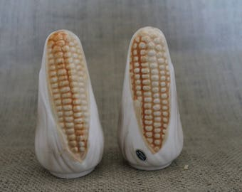 1960's Corn on the Cob Salt and Pepper Shakers