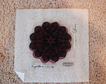 Close to my Heart stamp set B1418 Love Doily