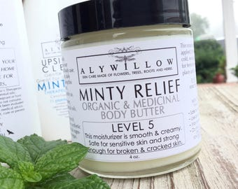 MINTY RELIEF Therapeutic Plant Formula || skincare made of 14 plants || energizing and vegan || reduces pain & swelling