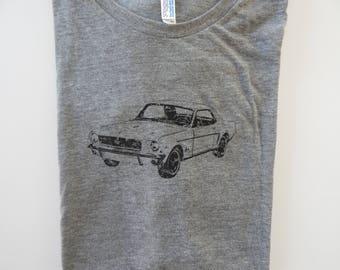 Men's/Unisex FORD Mustang Tri-blend  t-shirt, Size XS-XXL