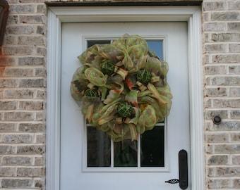 Moss Ball Wreath