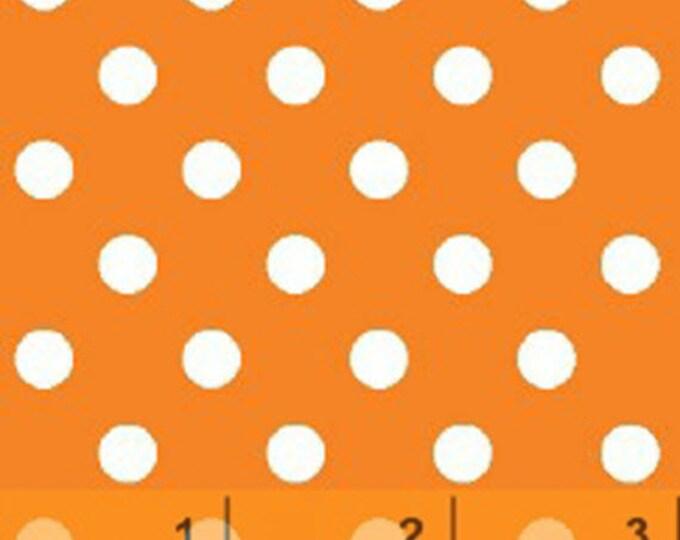 Windham Basic Brights - Aspirin Dot in Orange / White - Bright Basics Cotton Quilt Fabric Dots - Windham Fabrics - 29398-8 (W4150)