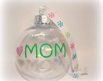 Christmas Ornament, Mom Ornament, Mom Gift, Dad Ornament, Dad Gift,  Grandma, Sister Gift, Grammy Ornament, Aunt Gift, Yaya Ornament, Gaga