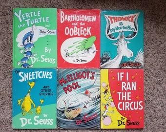 Vintage Dr Seuss books