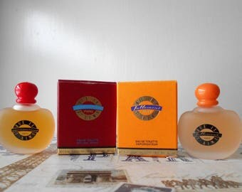 Johnny Hallyday eau de toilette mini lot. Que Je T'aime Follement & Que Je T'aime Passionement vintage celebrity fragrances.