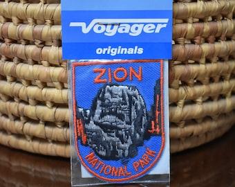 Vintage Zion National Park Patch