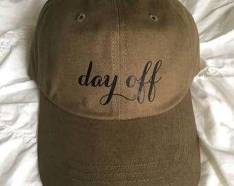 Day Off Dad Hat