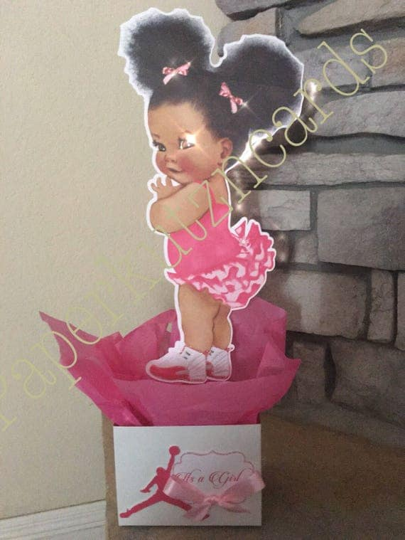 Baby Girl Baby Shower Royal Baby African American Baby