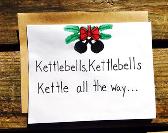 Fitness/Kettlebell/Crossfit Christmas Card