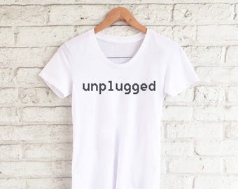 unplugged tee