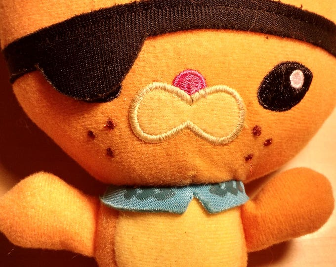 6 inch Plush Kwazii Doll - Octonauts