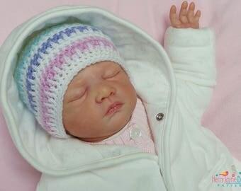 CROCHET HAT PATTERN - Ice Cream Baby hat Pattern - Baby Hat Crochet Pattern - 5 sizes! Newborn - 12 months!! Crochet Baby Hat Patterns  Pdf