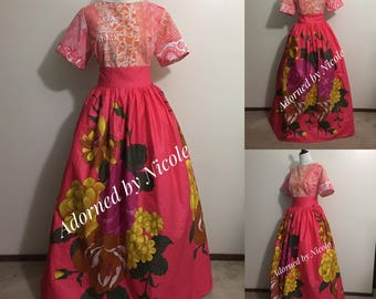 Blooming and Weaving Dress