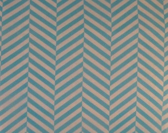 Clearance SALE Cotton Fabric~1 and 1/2 Yard Piece~Modern,Quilt,Home Decor~Chevron by Camelot~ MD190,Fast Shipping