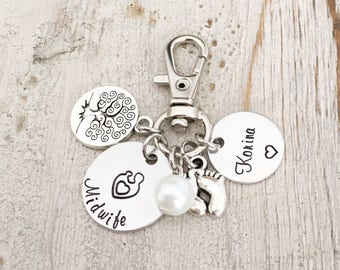 Midwife Gift - Midwife Jewelry - Midwifery Nurse - Gift for Midwife - Midwife Certification Gift - Gift for your Midwife