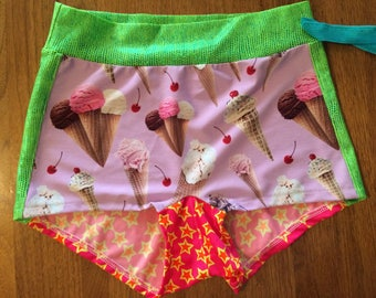 Candy Mix-Up Roller Derby Shorts.