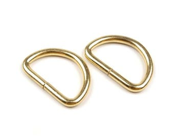 4 loop Stirrup 25 mm metal gold