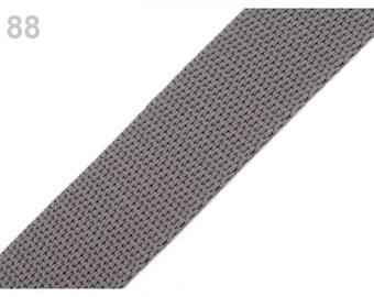 88 - Strap 30 mm polypropylene anthracie grey