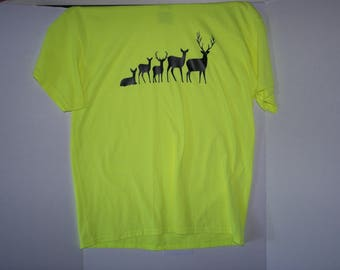 Deer Family, Vinyl Graphic T-Shirt