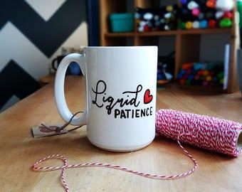 Tasse à café - Liquid patience