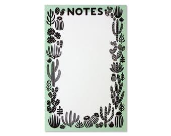Cactus Notepad
