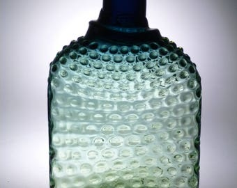 Czech art glass vase Nový Bor 35cm
