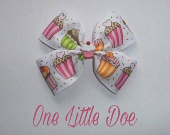Cupcake Hair bow