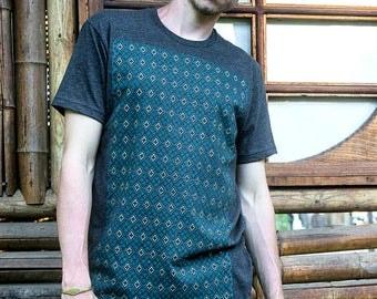 Diamond Space - Repeated Pattern - Men's Rythmatix Shirt