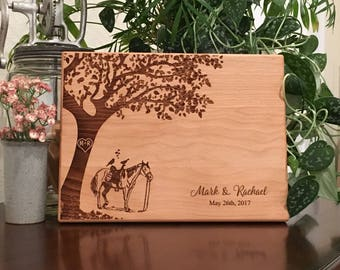 Personalized Cutting Board Equestrian Cutting Board Equine Kitchen Decor Personalized Horse Decor Horse Lover Horse Artwork Laser Engraved