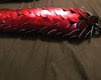 Dragon Scale Tail - Dragon Tail - ScaleMaille Tail