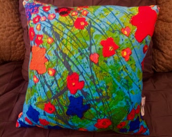 "Fleece pillow 16""x16"""
