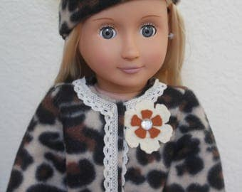 18 inch Doll Clothes Coat and Boots
